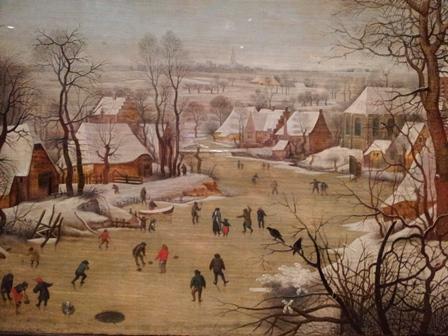 ブリューゲル 冬景色2.jpg